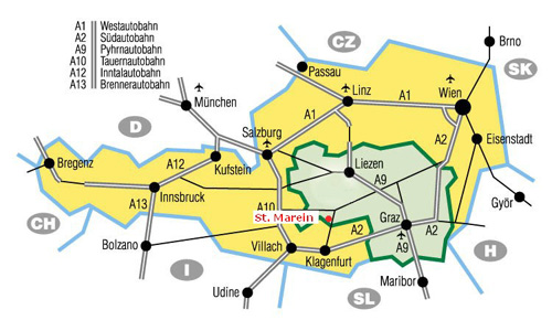 strassenkarte